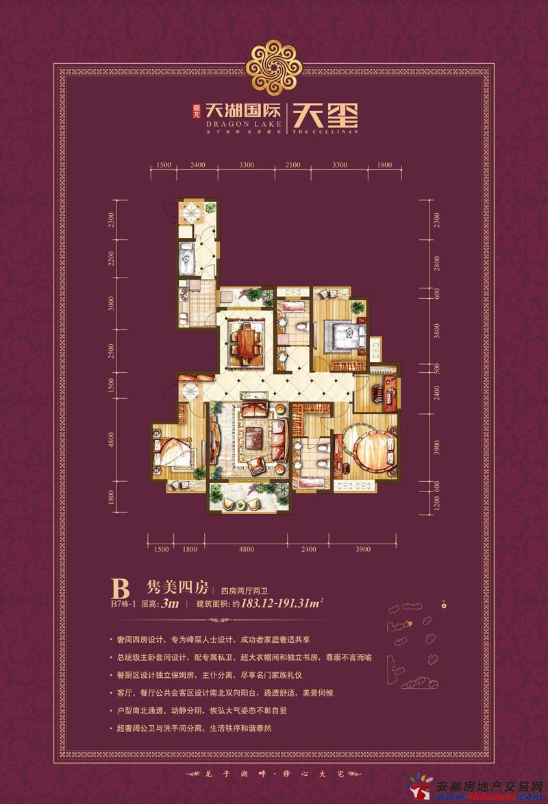 天湖国际_4室2厅2卫0厨