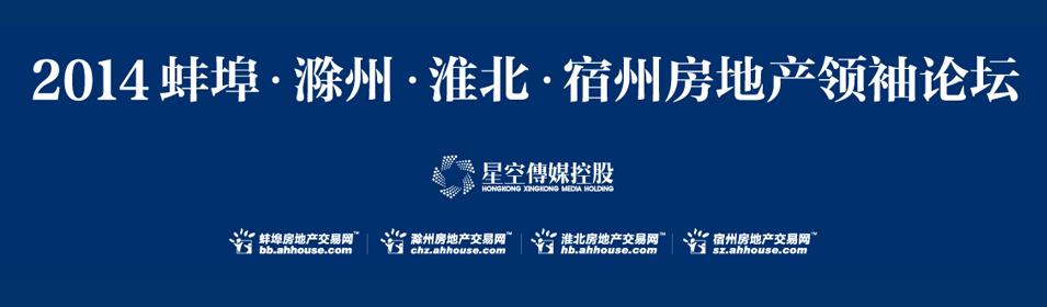 2014蚌淮宿滁房地产领袖论坛