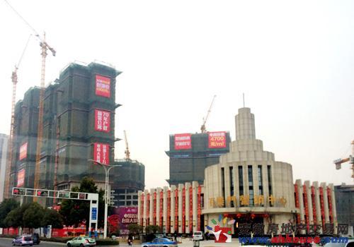 实探百乐门经贸文化广场:繁华之上都市生活