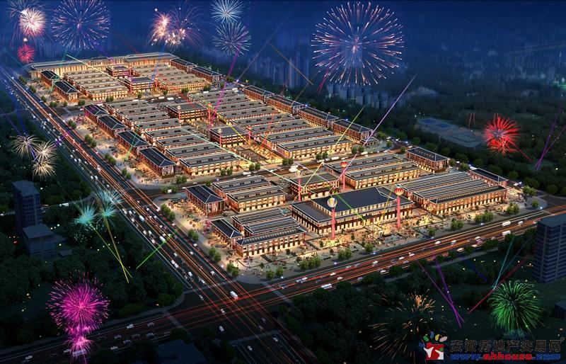 太安堂(亳州)广场交通图
