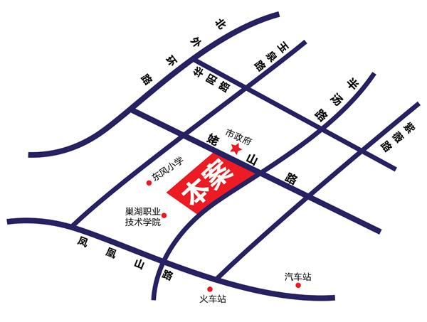 恒大帝景交通图