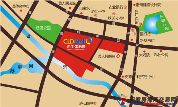 庐江中心城(商铺)交通图