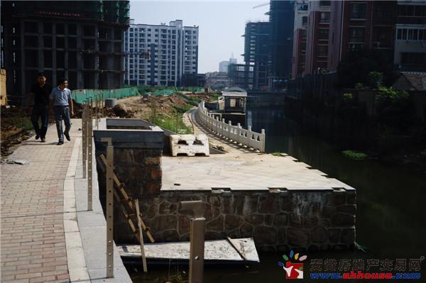 庐江中心城实景图