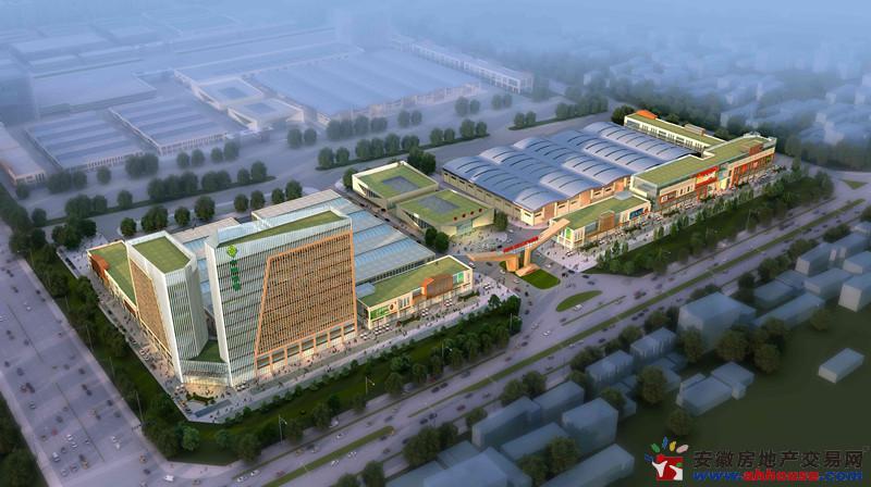 中国供销·滁州农产品物流园效果图