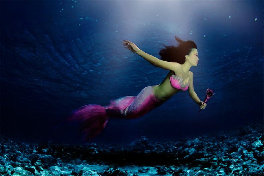 给梦想穿上美人鱼的尾巴
