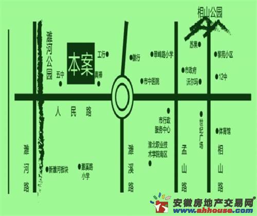 顺和家园交通图