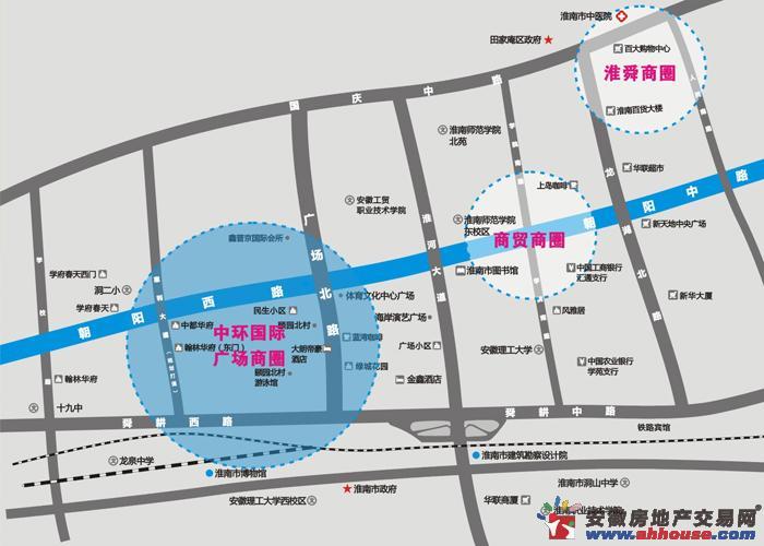 中环国际广场交通图
