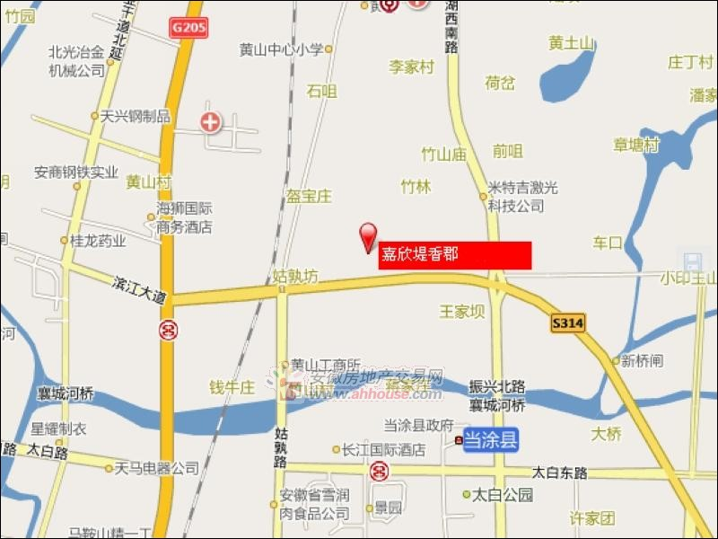 嘉欣缇香郡交通图