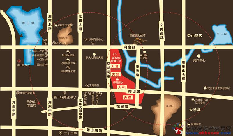 朝辉东方城交通图