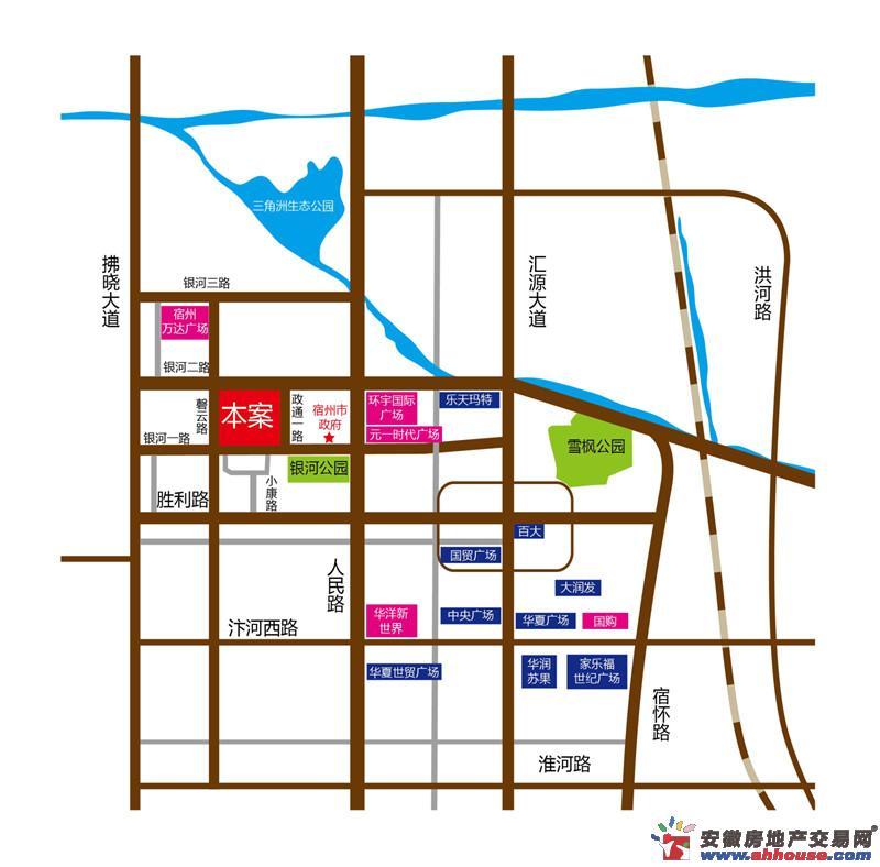 南翔云集文化商业街交通图