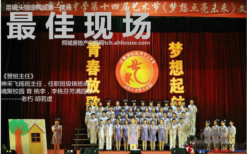 桐城二中成功举办第14届艺术节