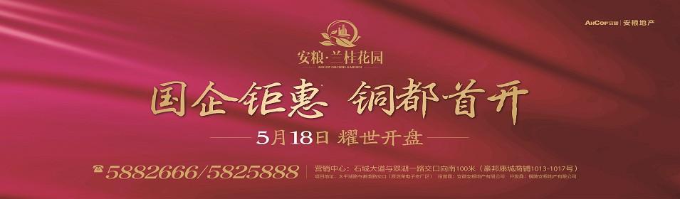 安粮兰桂花园5月18日铜都首开 国企钜惠来袭