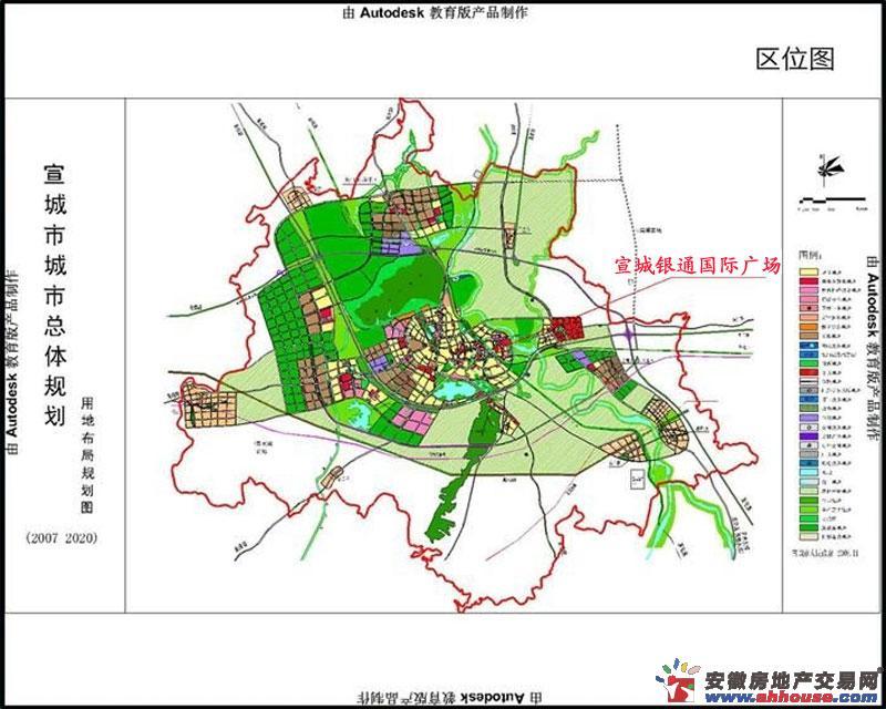 银通国际广场交通图