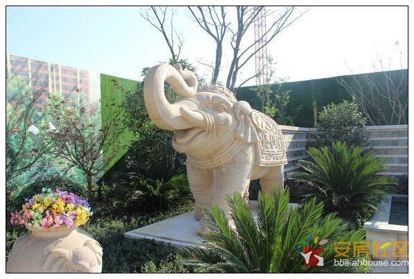 清组图 万科城东南亚风情泰式园林景观,大片欣赏咯 芜湖业主社区
