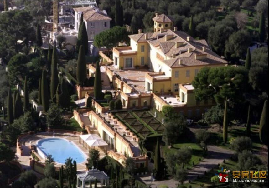 全球最贵的亿万富豪宅邸 国王的皇宫也黯然失色