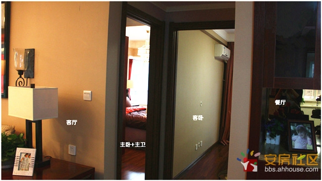淮河新城南区115平米c2户型中式精装样板间,尽享品质生活 高清图片