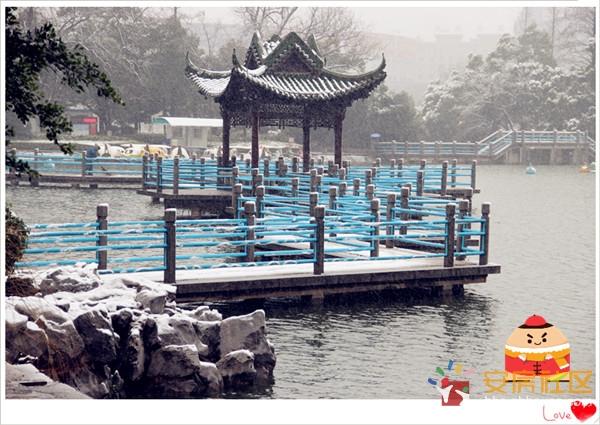 芜湖/镜湖之上的九曲回廊~