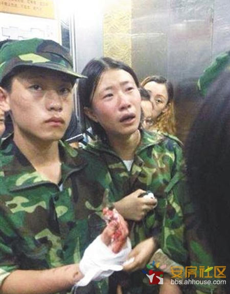 湖南龙山县皇仓中学受伤的学生