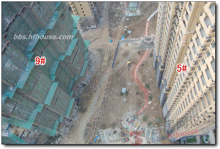 6 顶楼拍摄的俯视图 各楼楼间距及日照情况,一目了然 Powered by