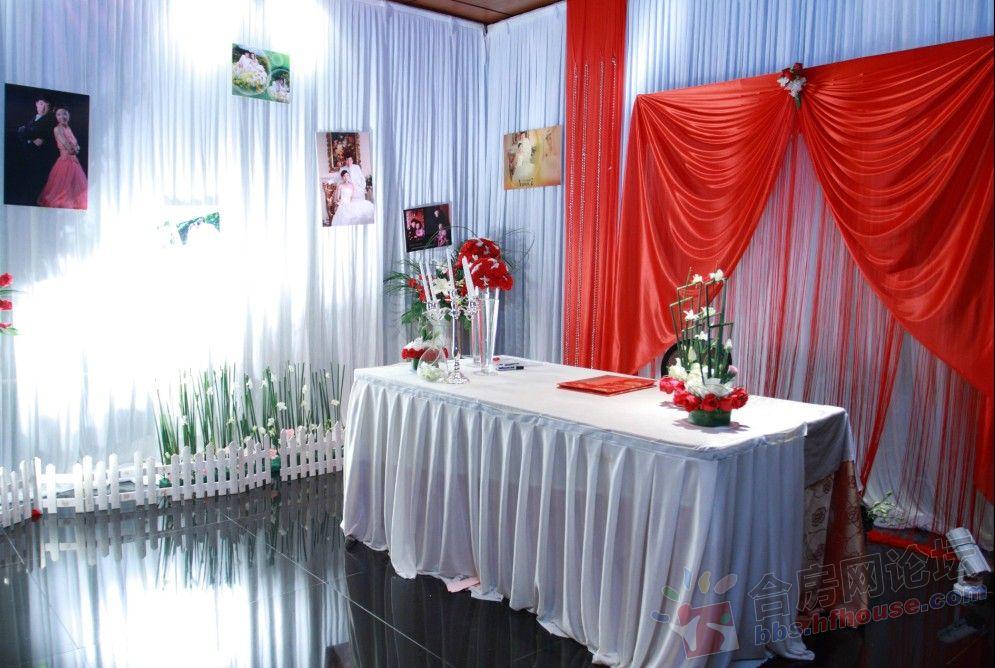 结婚了 我的婚礼布置现场