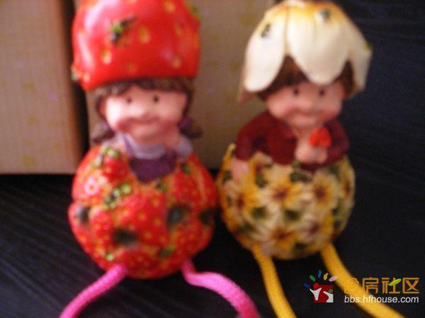 福利/500楼陶瓷水果娃娃一对