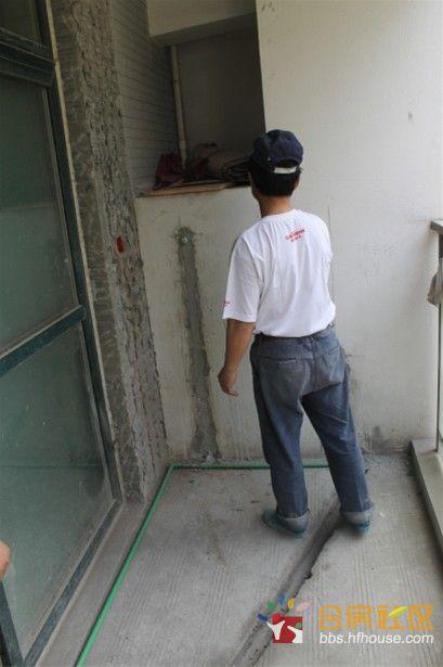 谢工/阳台洗衣机的预留位子