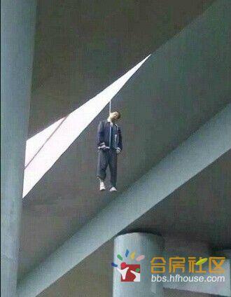 淮北市高架立交桥6月16日刚通车,当天就有人去上吊自杀