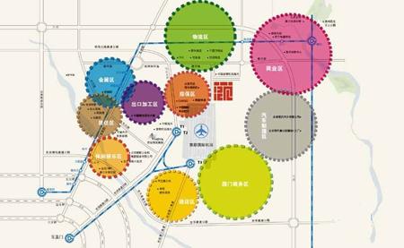 航城广场交通图