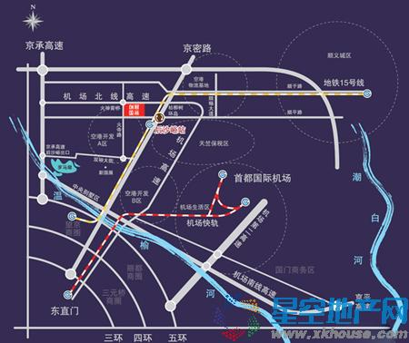 东亚·创展国际交通图