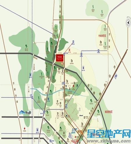 望京·金茂府交通图