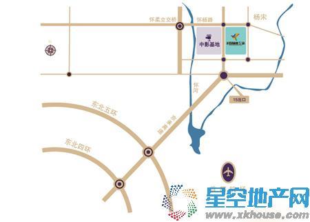 益田·奥斯卡城交通图