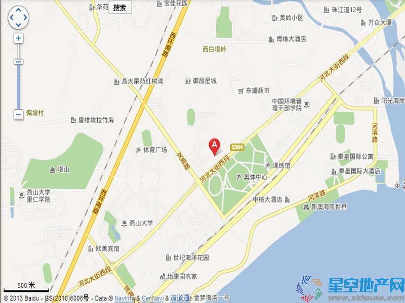 海逸国际公寓交通图