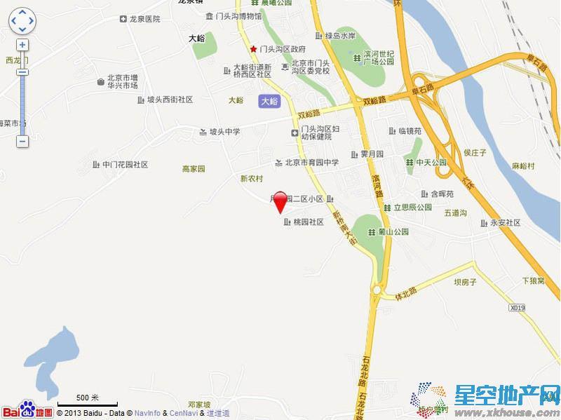 V7西园交通图