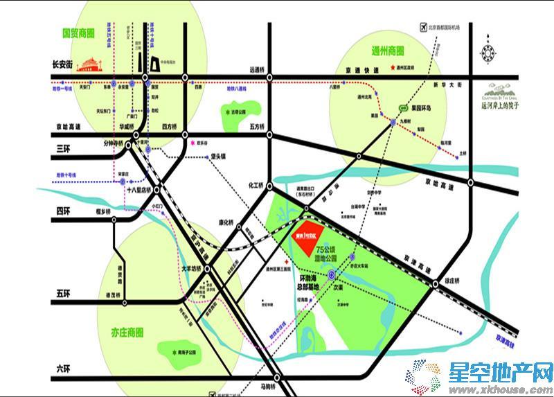 泰禾·1号街区交通图