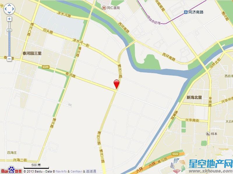 北京城建·海梓府交通图