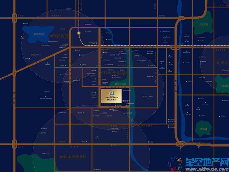 第三区·观邸交通图