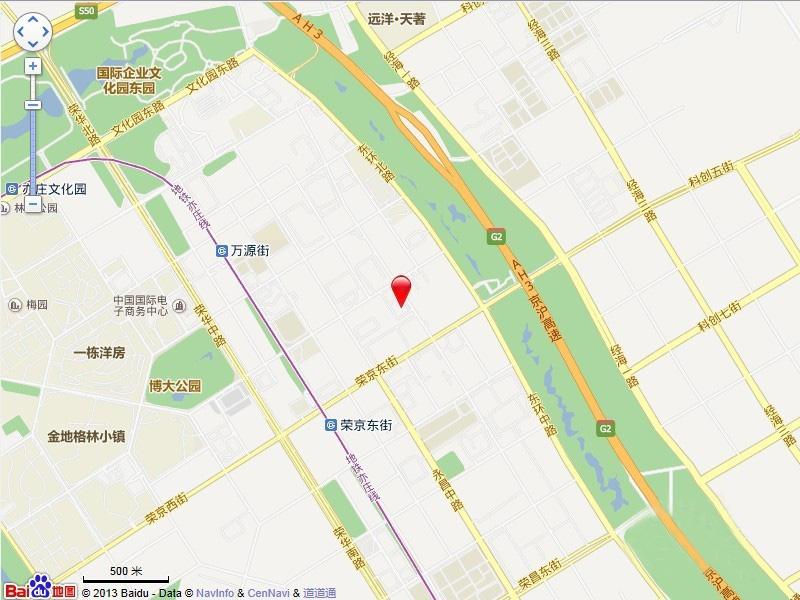 城乡世纪广场·莫尔空间交通图