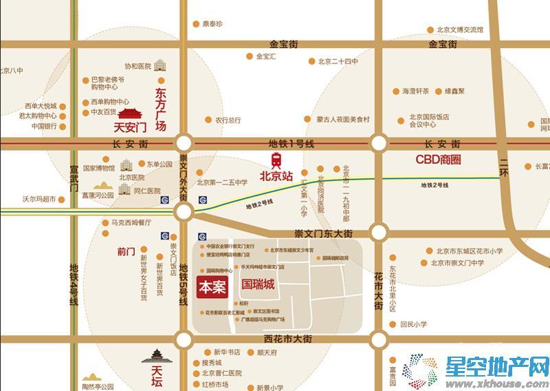 国瑞紫金阁交通图