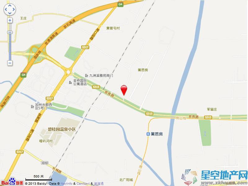 中国铁建•国际花园交通图