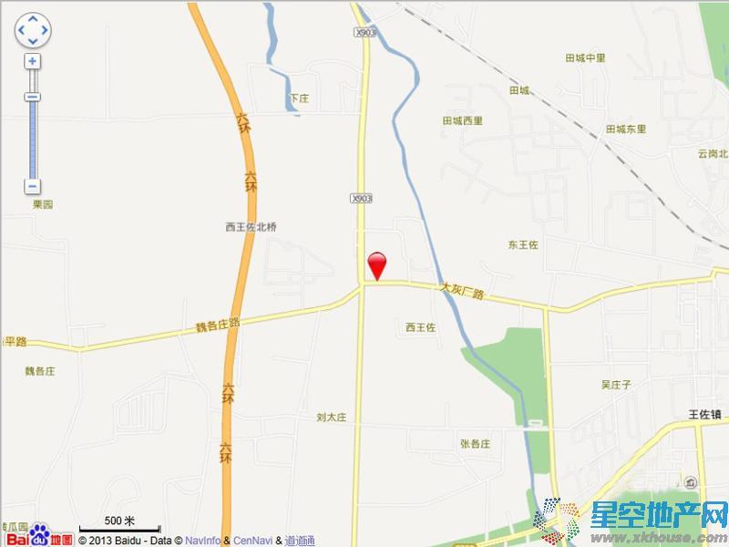 中国铁建·山语城交通图