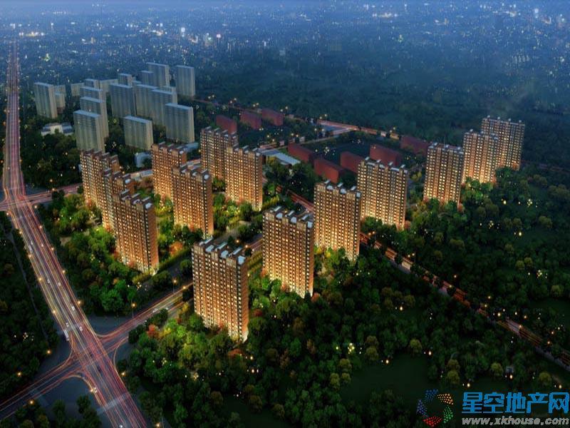 中国铁建•国际花园效果图