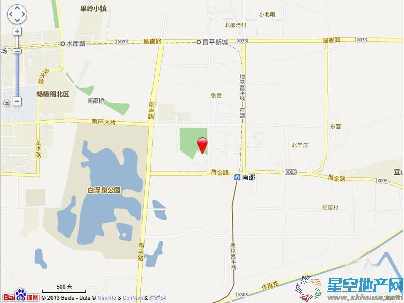 中国铁建·青秀尚城交通图