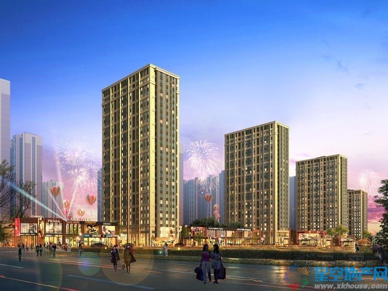 中国铁建•梧桐汇在售楼栋