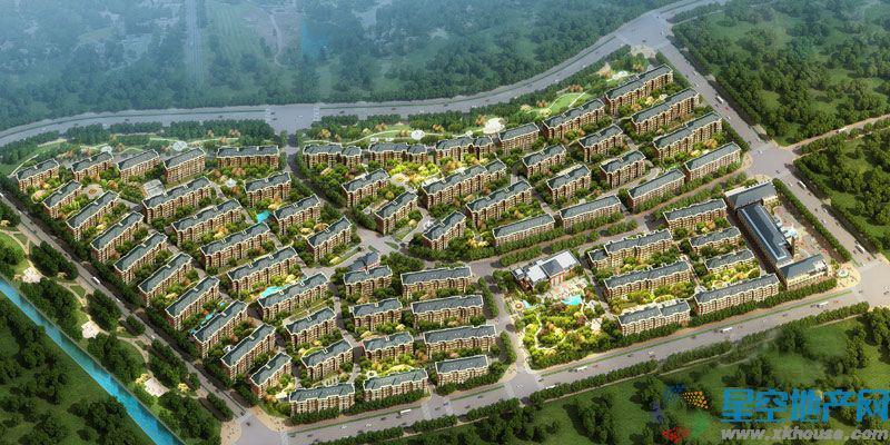 中国铁建·山语城效果图