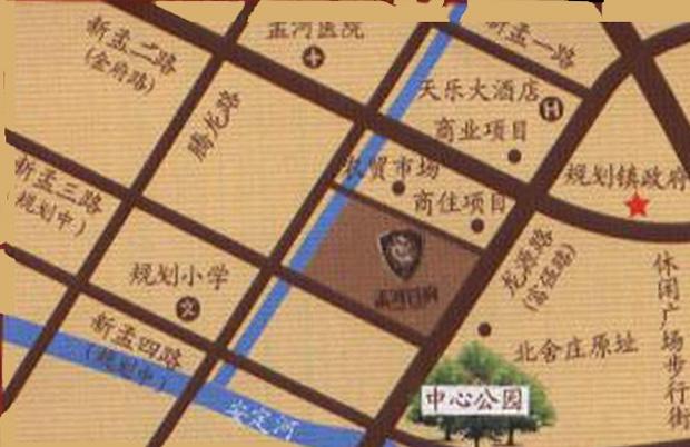 孟河首府交通图