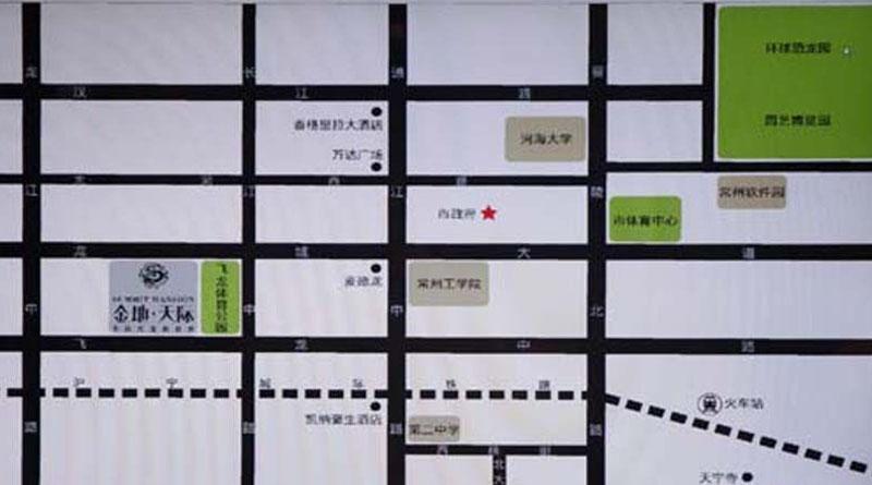 金地天际交通图