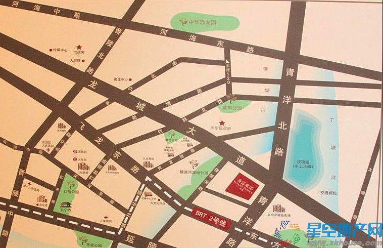 新城香溢紫郡交通图