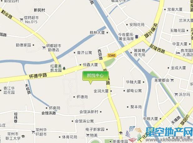 凯悦中心交通图
