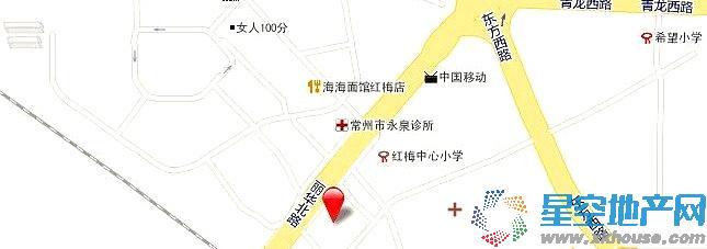 润泽东方尚院交通图