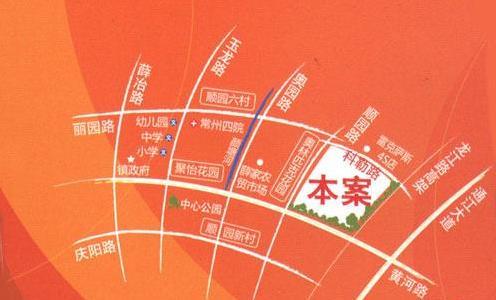 河海新邦交通图